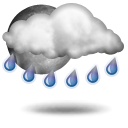 Averses de pluie,23.6°C