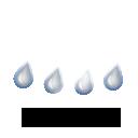 Pluie faible,12.3°C