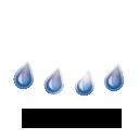 Pluie faible,6.3°C