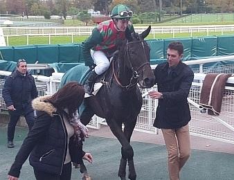 Alex de Larredya fait sa rentrée ce jeudi 14 septembre à Auteuil