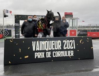 Bahia Quesnot enlève le Prix de Cornulier 2021 ce dimanche 24 janvier à Vincennes.