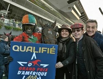 Billie de Montfort remporte le Grand Prix de Bourgogne ce dimanche 29 décembre à Vincennes