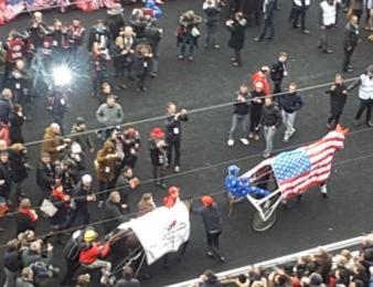 Bold Eagle triomphe dans le Belgique et file vers le Grand Prix d'Amérique