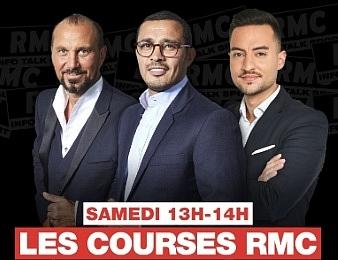 L'émission Les Courses RMC a lieu tous les samedis de 13h à 14h.