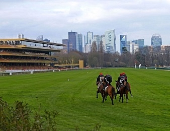L'hippodrome de ParisLongchamp accueille rouvre ses portes