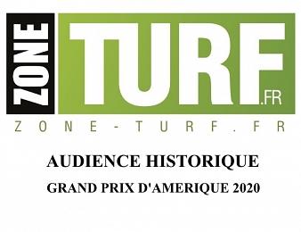 Le site Zone-Turf.fr a réalisé une audience record lors du Grand Prix d'Amérique 2020