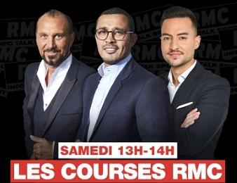Les Courses RMC, tous les samedis de 13h à 14h