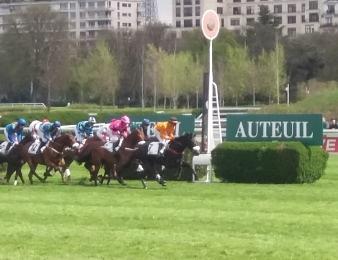 Les jockeys, également héros du Grand Steeple-Chase de Paris 2017 à Auteuil