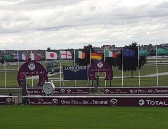 Les Qatar Arc Trials avaient lieu ce dimanche 10 juillet à Chantilly